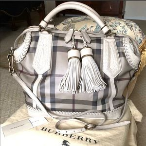 Authentic crossbody BURBERRY landscape Ellers tote